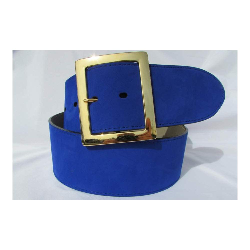 blauer damen g rtel 6 cm breit rundgeschnitten 89 00. Black Bedroom Furniture Sets. Home Design Ideas