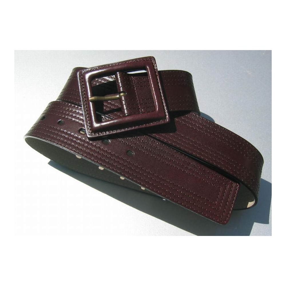 brauner damen g rtel 5 cm breit 95 00. Black Bedroom Furniture Sets. Home Design Ideas