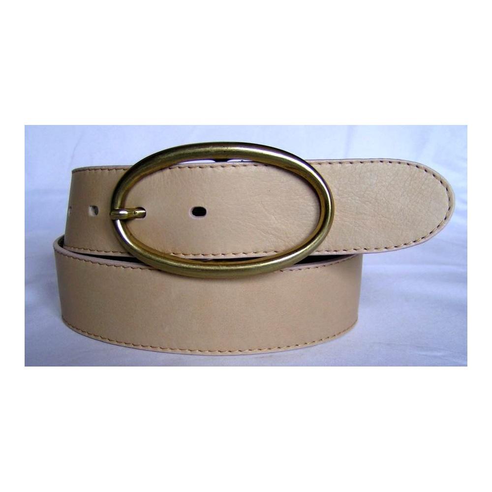 sandfarbener damen g rtel 4 cm breit rundgeschniten 79 00. Black Bedroom Furniture Sets. Home Design Ideas